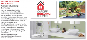 Cardiff building services in Cardiff life magazine